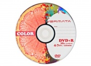 Диск DVD+R Vermata 4,7Gb 16x Slim
